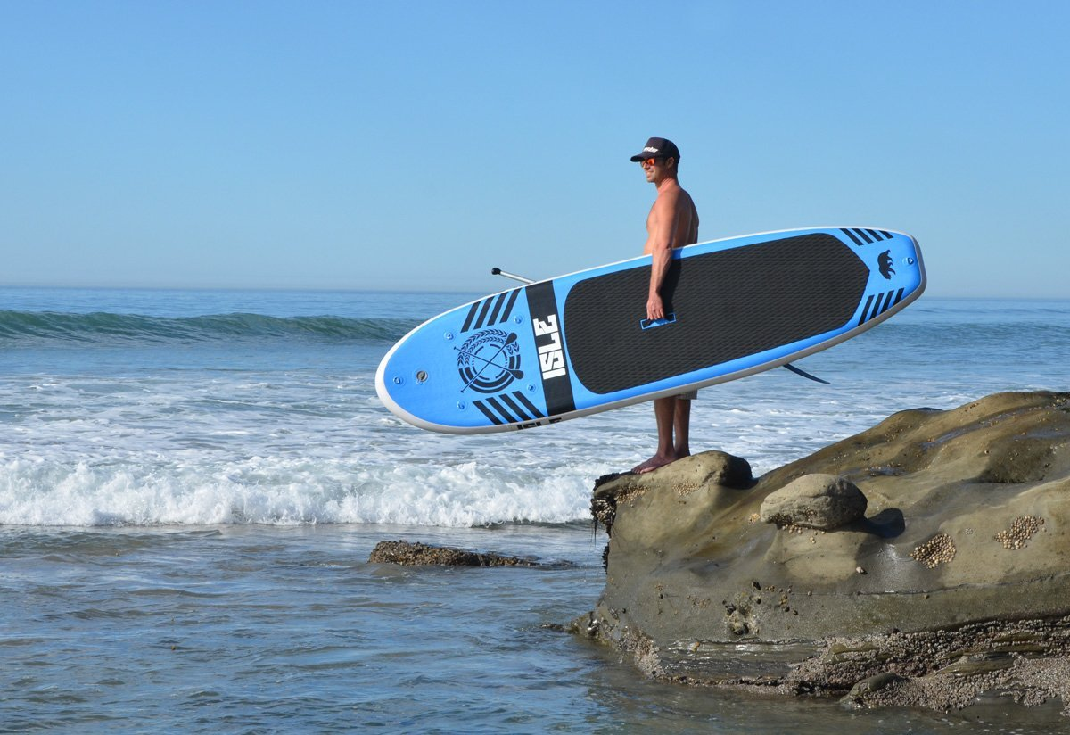 Isle 10ft iSUP - one of the best inflatable paddle boards... b7f751c487b3