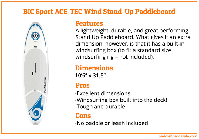 Bic Sport Ace Tec Wind Stand Up Paddleboard Review