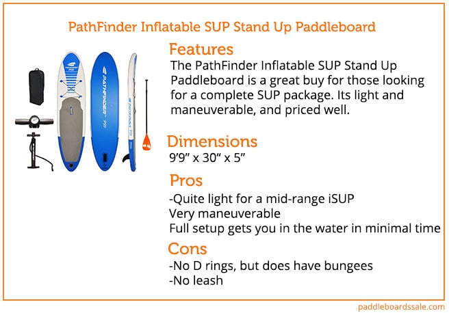 1dc953b35 PathFinder Inflatable SUP Stand Up Paddleboard Review