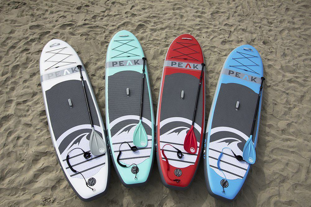 The Peak Inflatable Stand Up Paddle Board Review
