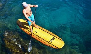 Isle Classic Soft Top Stand Up Paddle Board Topdown