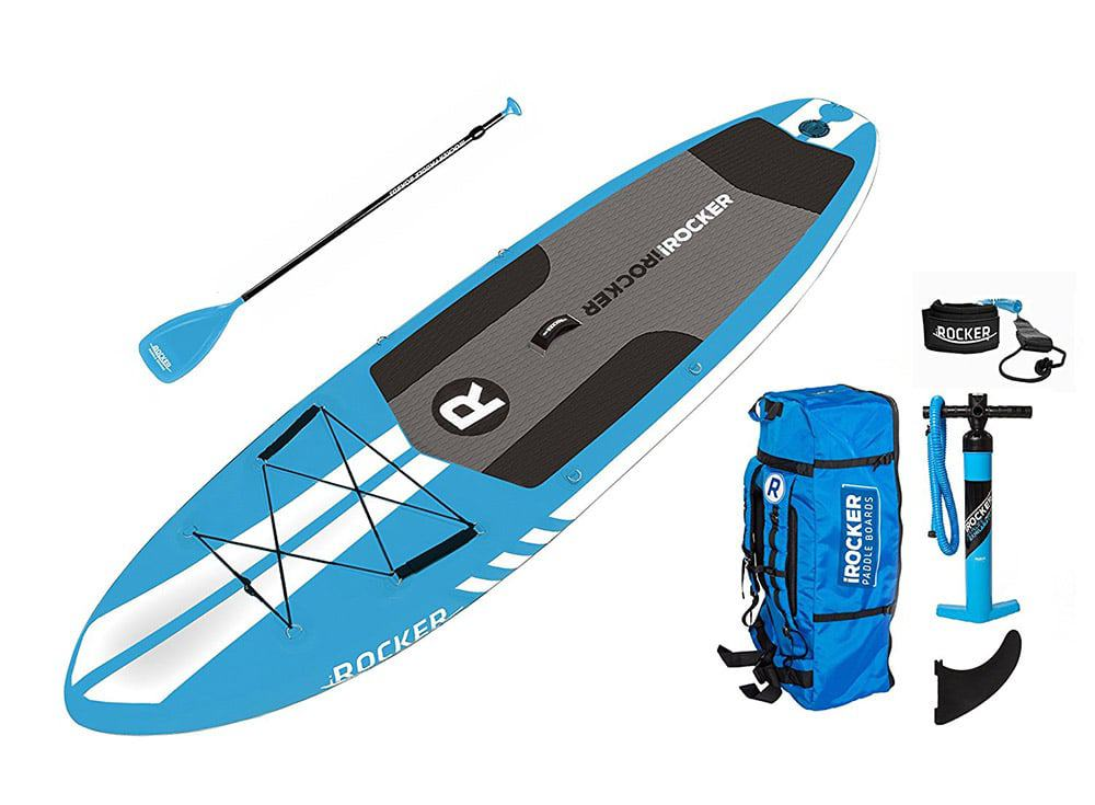 iRocker Inflatable ALL-AROUND Stand Up Paddle Boarding Package Accesories