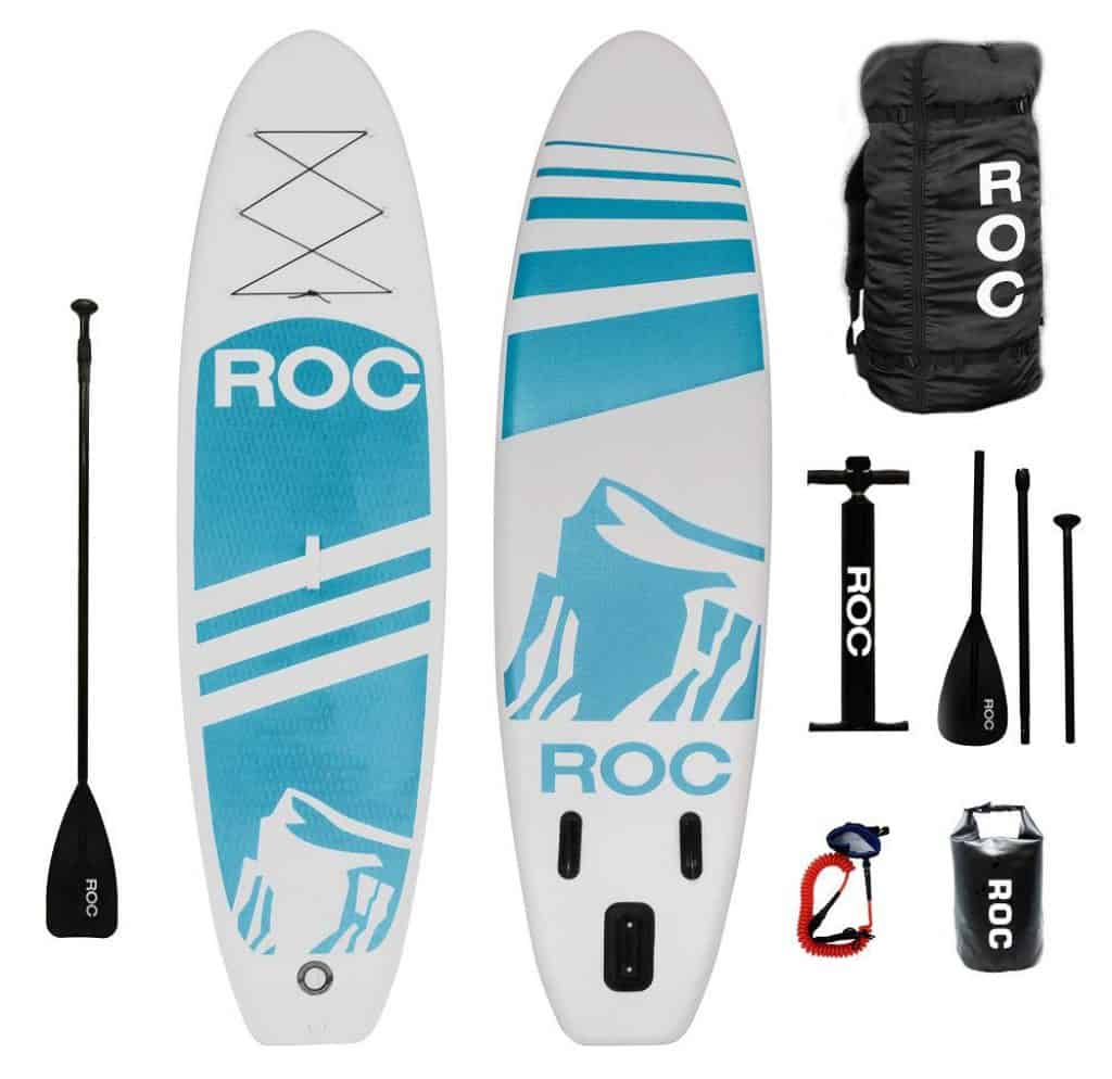 Roc Inflatable Paddle Board review - paddle boards sale
