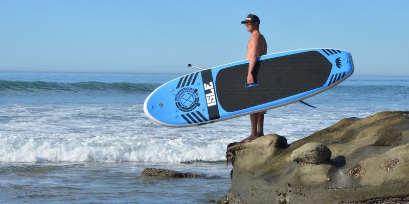 The Isle 10ft Inflatable SUP – one of the best inflatable paddle boards on the market today?