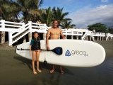 Greco The Ark SUP Stand Up Paddle board with Carbon Fiber Paddle review
