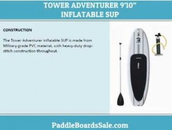"TOWER ADVENTURER 9'10"" INFLATABLE SUP – video review"